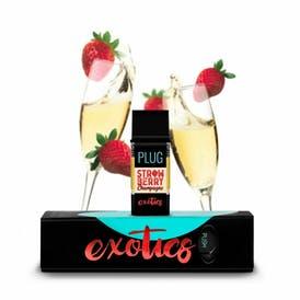 Plug EXOTICS - Strawberry Champagne